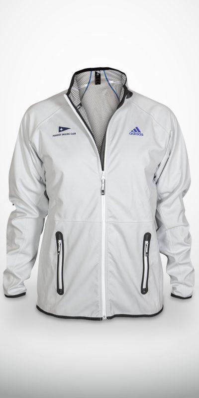 Μπουφάν Adidas Λευκό
